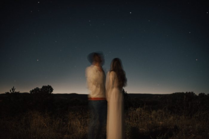 New Mexico destination engagement film photography by Kristen Kaiser