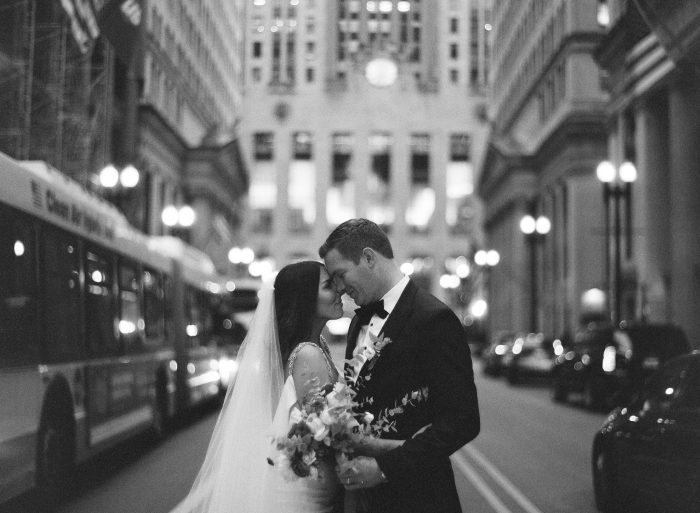 Best Chicago Wedding Photography on Film by Kristen Kaiser maudlinco.com
