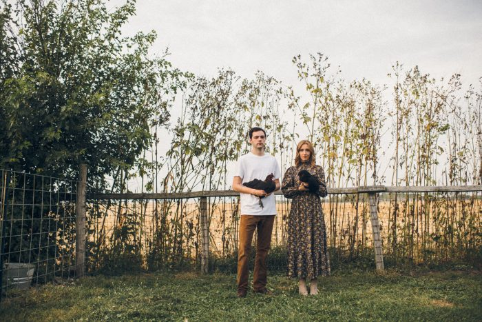 Couples Engagement Session on the Farm by Maudlin Co